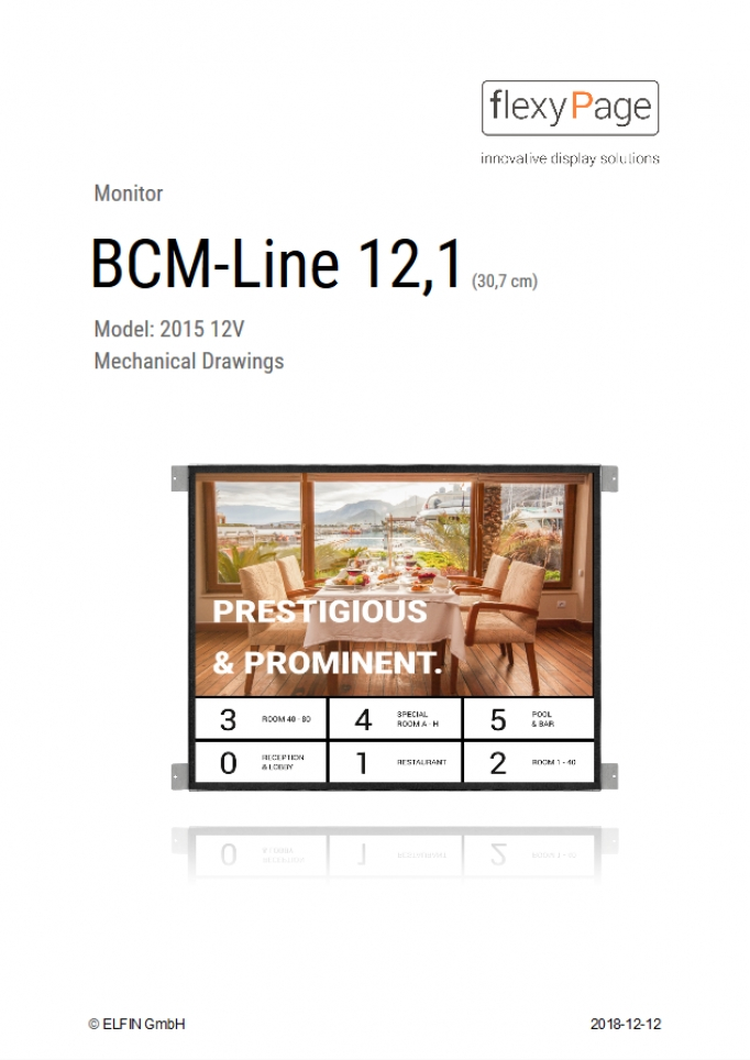 Mechanical Drawing BCM-Line 121A