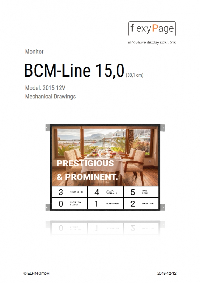 Mechanical Drawing BCM-Line 15