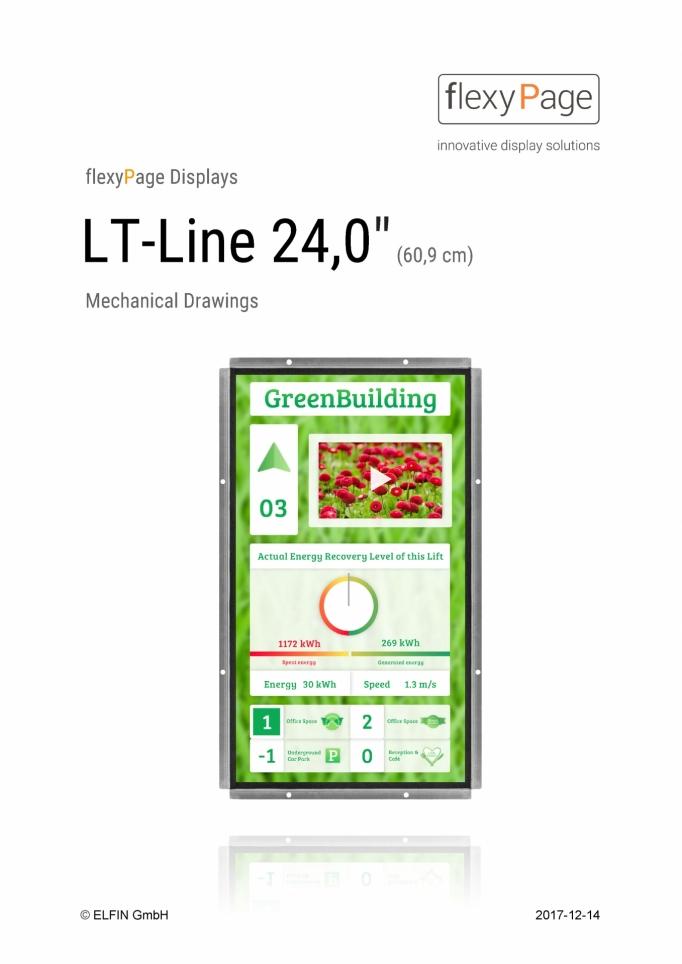 Mechanical drawing Display LT-Line 24,0