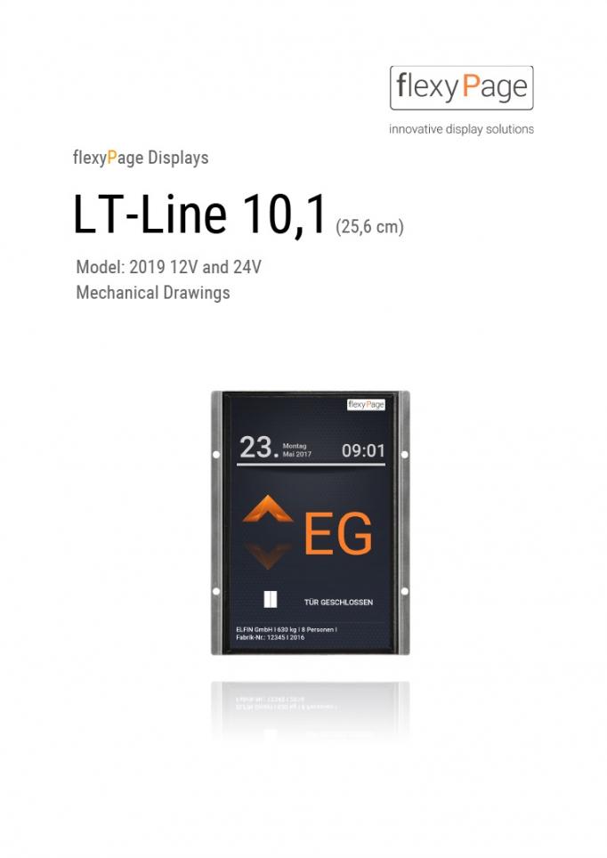 Mechanical drawing display LT-Line 10,1
