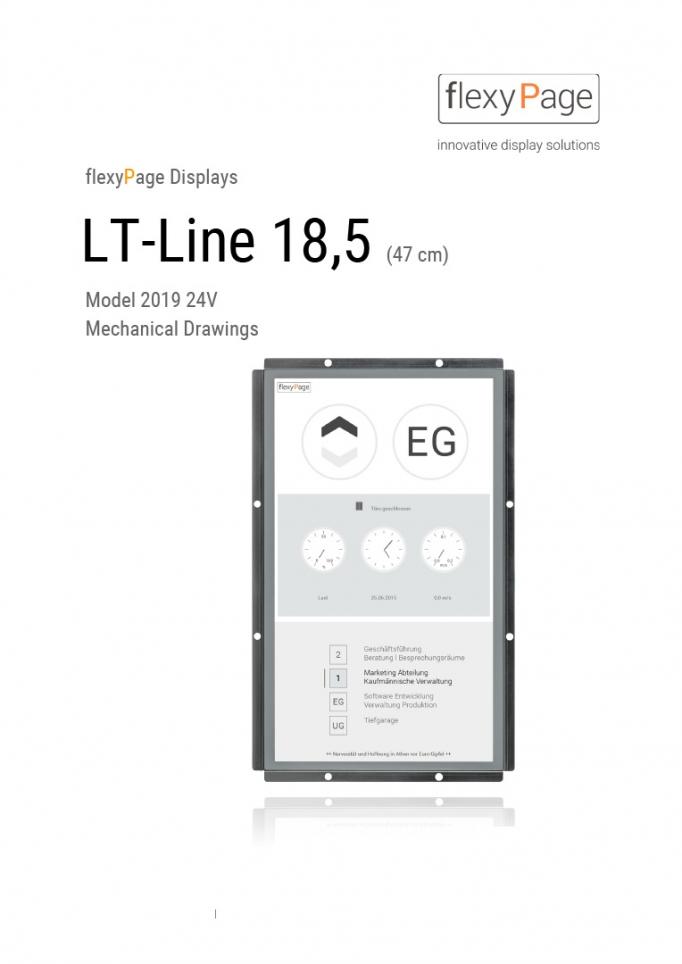 Mechanical drawing display LT-Line 18,5