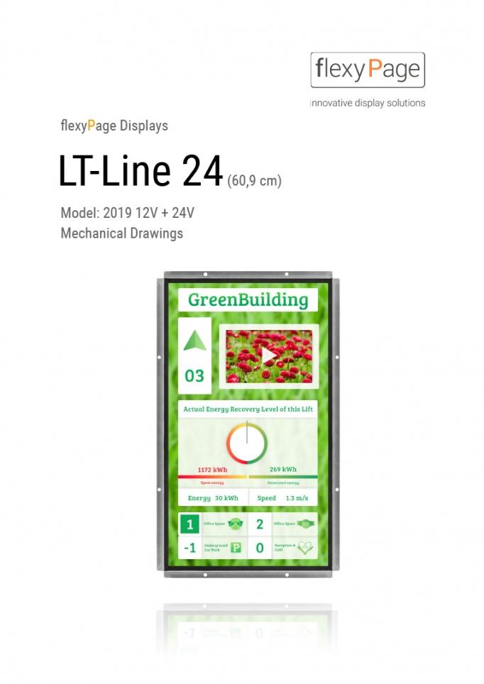 Mechanical drawing display LT-Line 24