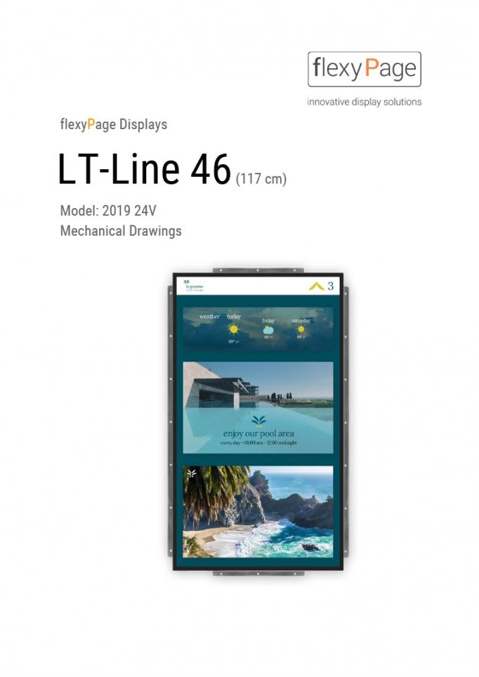 Mechanical drawing display LT-Line 46