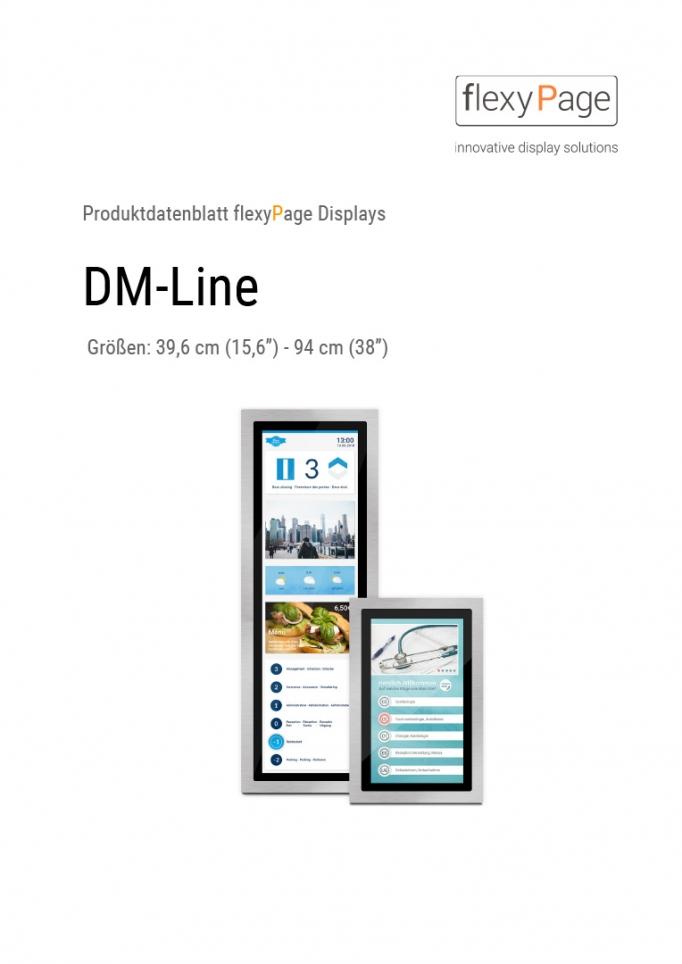 Produktdatenblatt DM-Line