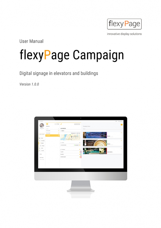 user manual flexyPage Campaign