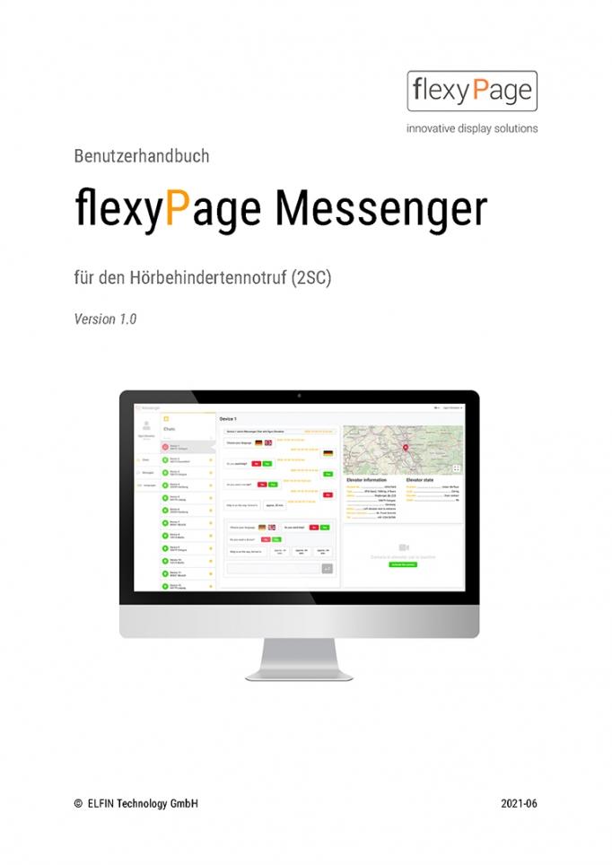 Benutzerhandbuch flexyPage Messenger