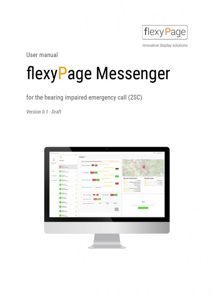 flexyPage Messenger user manual