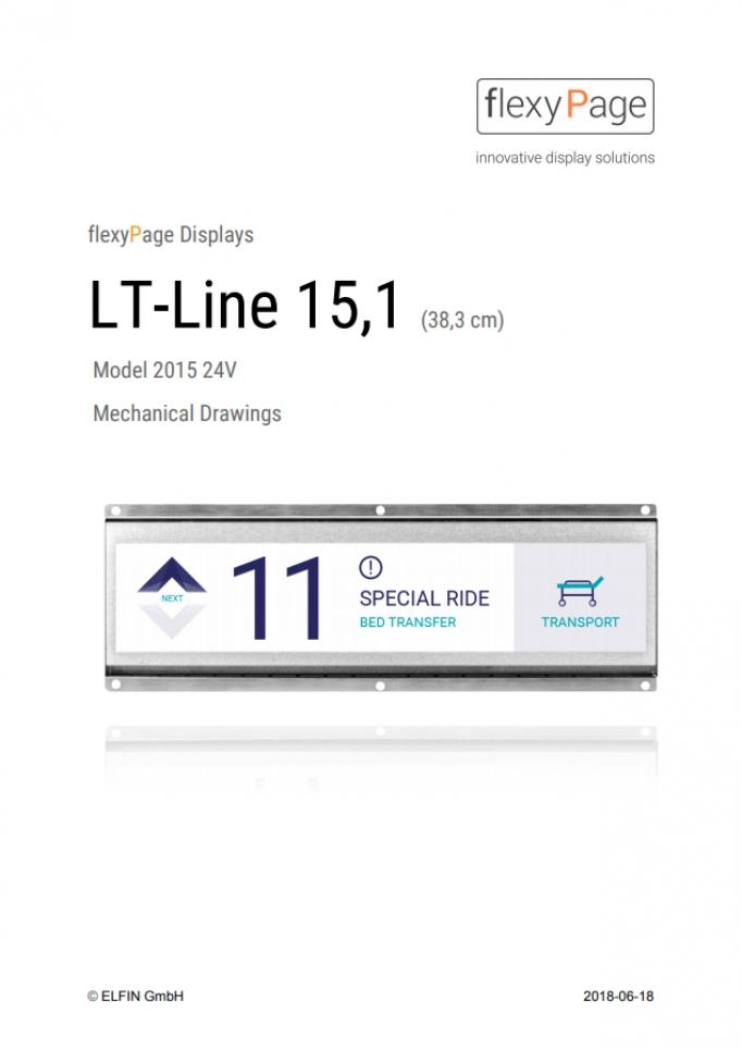 Mechanical drawing Display LT-Line 15,1