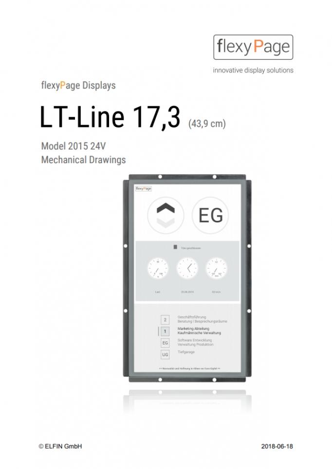 Mechanical Drawings Display LT-Line 17,3