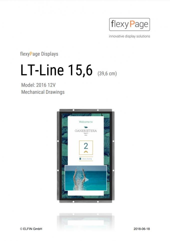 Mechanical drawing Display LT-Line 15,6