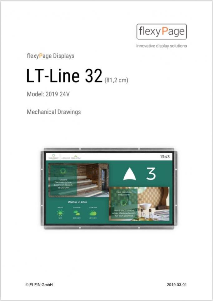 Mechanical drawing display LT-Line 32
