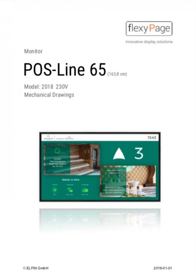 Mechanical Drawing POS-Line 65