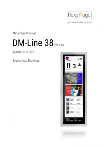 Mechanical drawing display DM-Line 38