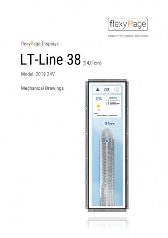 Mechanical drawing display LT-Line 38