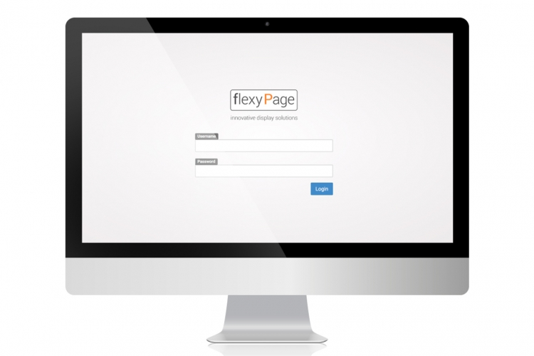 flexyPage editor login