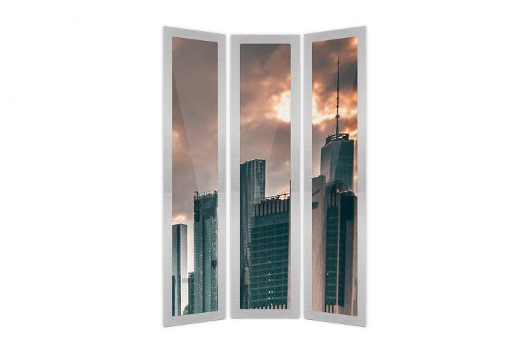 Digitales Fenster für Aufzüge