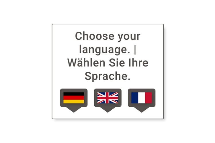 select languages
