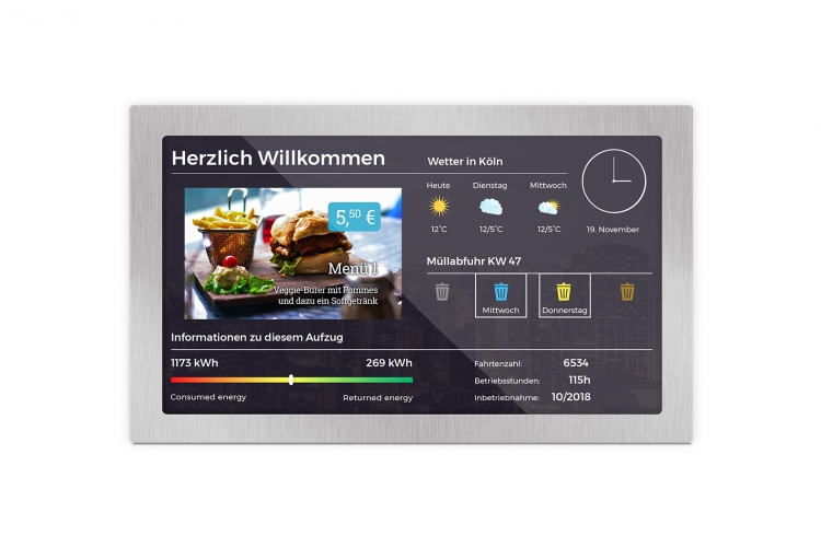 Dashboards for residential buildings