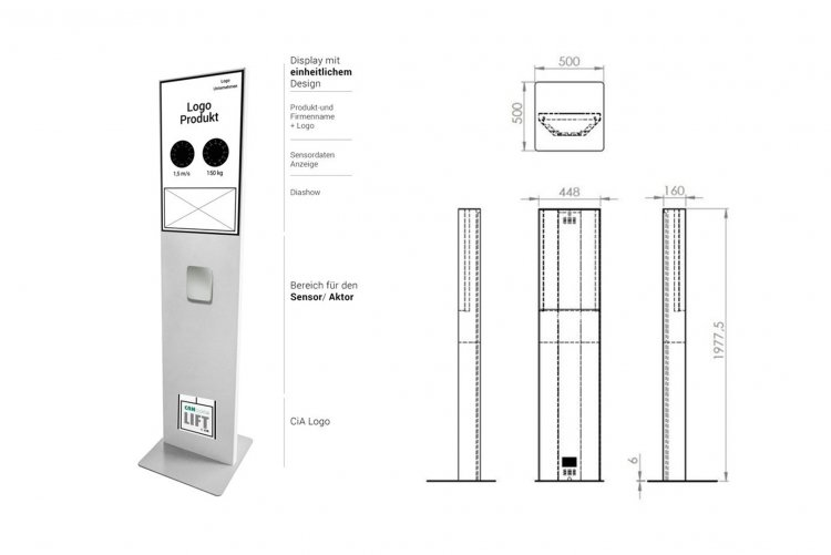 Display demonstration wall draft