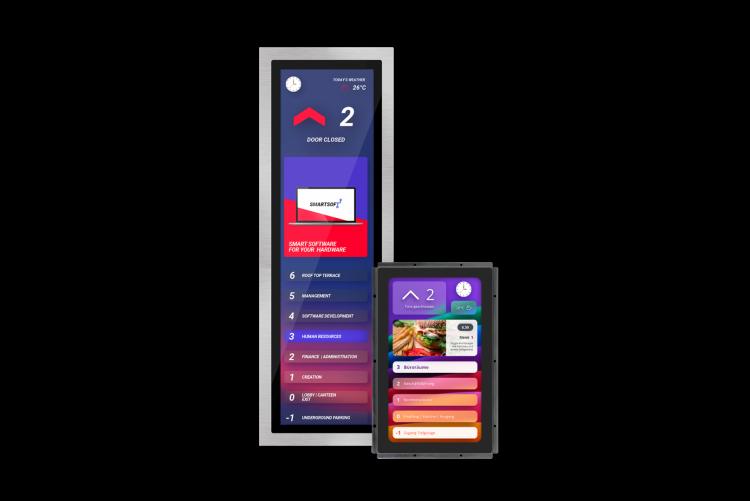 Touch-Displays für Aufzüge