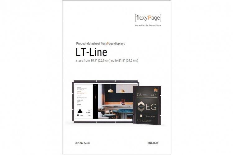 product datasheet TFT-displays LT-Line