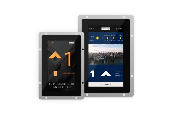 V-Line Aufzug Touch Displays 7
