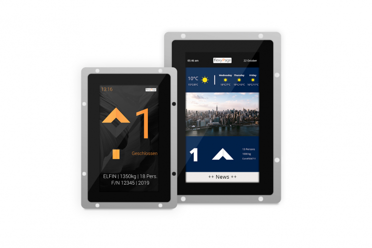 V-Line touch displays