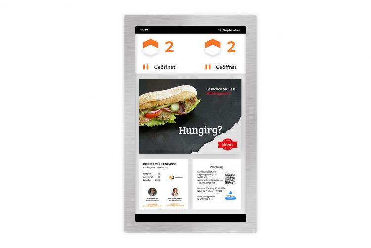 Digital Signage und Werbung