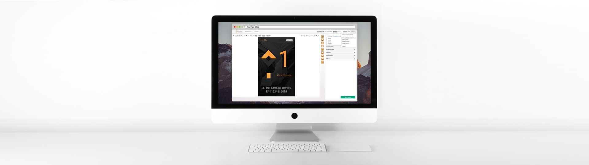 flexyPage Editor
