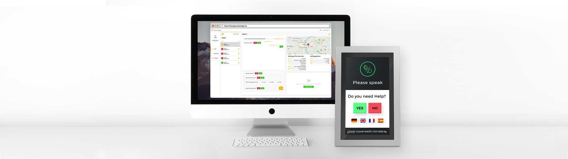 flexyPage Messenger
