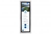 Screendesign für ein Touch-Display für eine Privatklinik