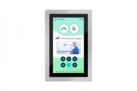 Screendesign für ein Touch-Display für Krankenhaus