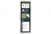 Kabinentableau Touch Display für öffentliches Gebäude